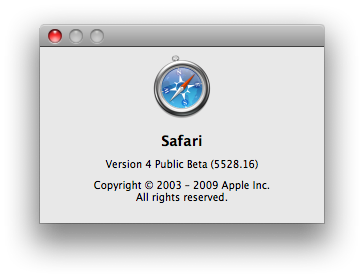 safari4beta
